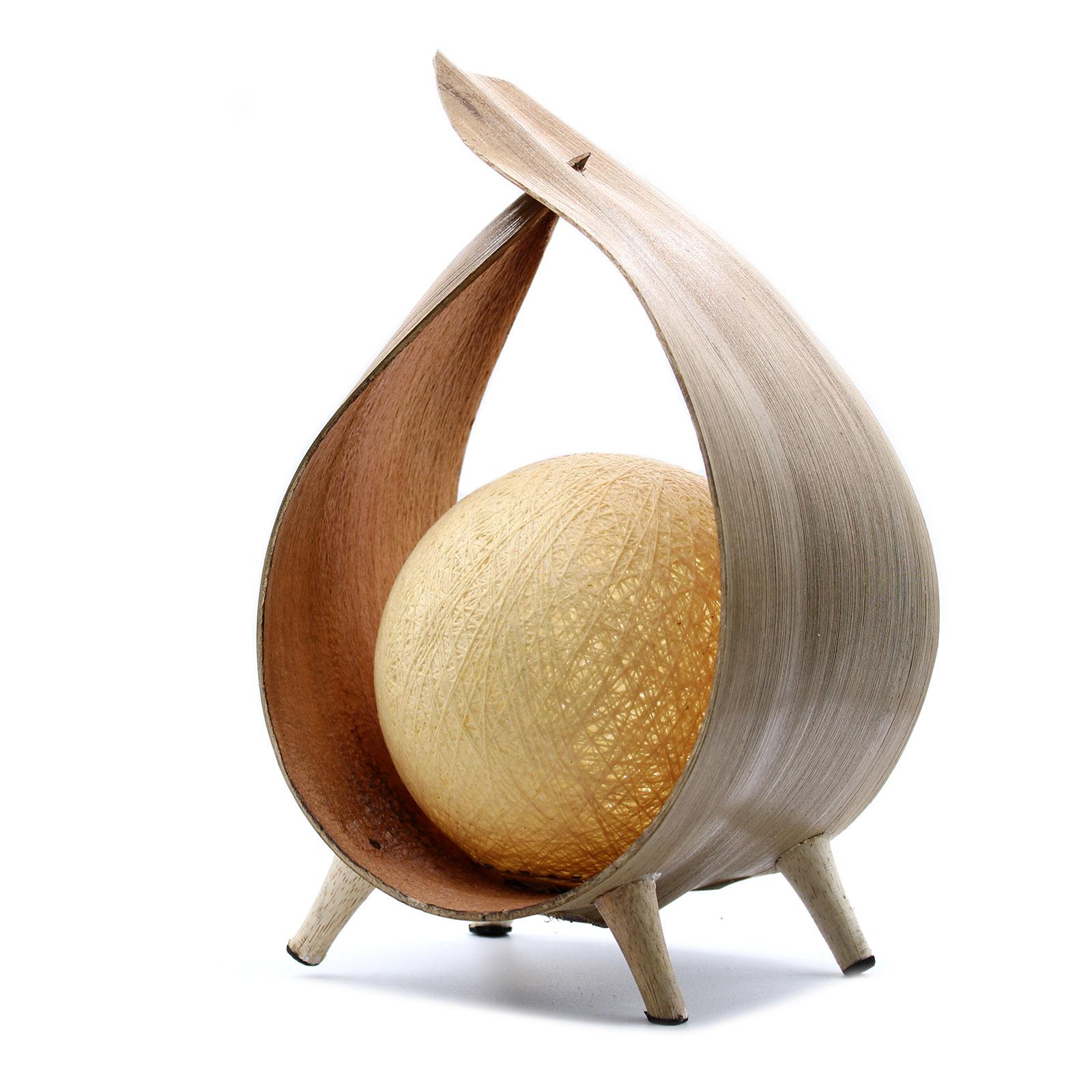 Natural Coconut Lamp Natural Loop