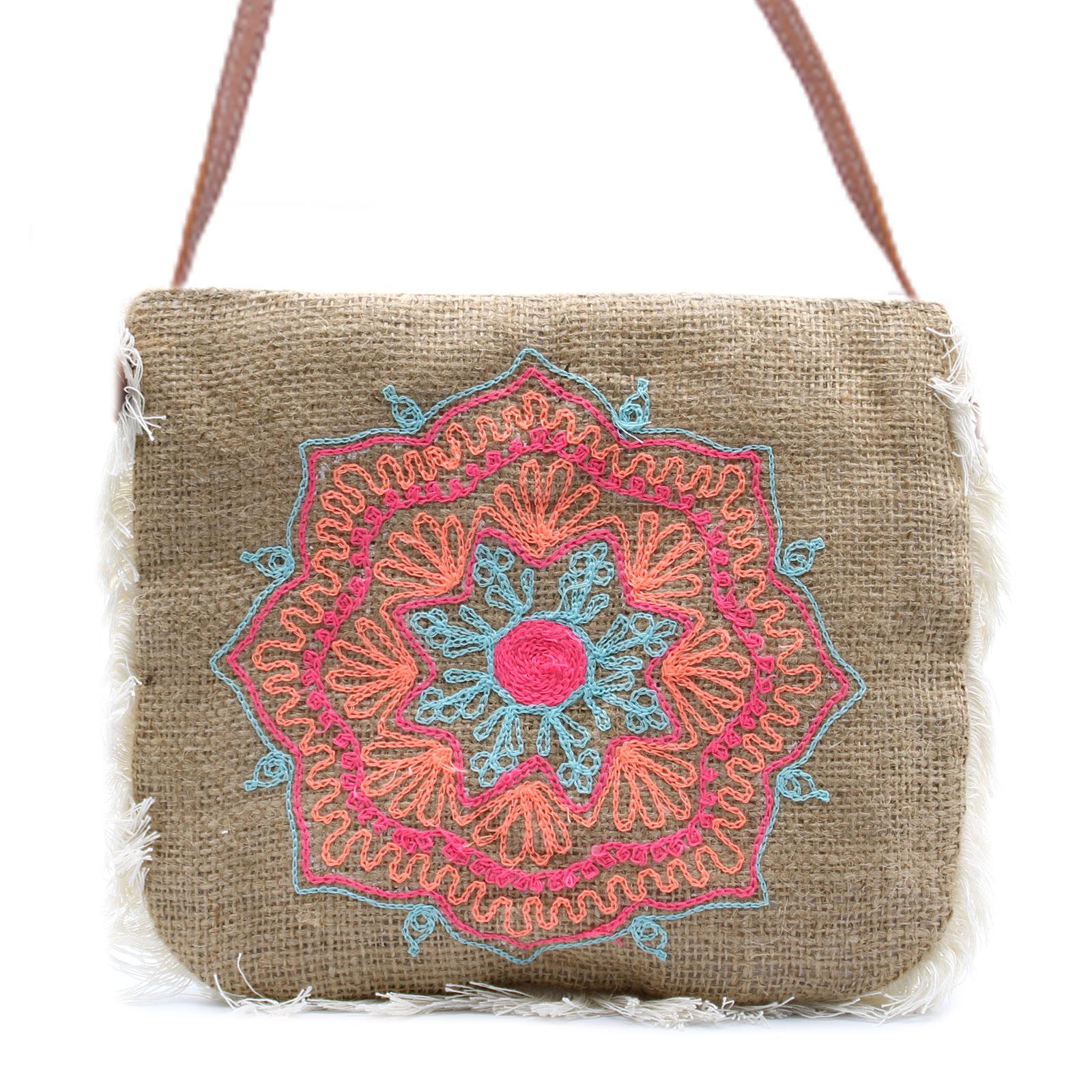 Fab Fringe Bag Mandela Embroidery