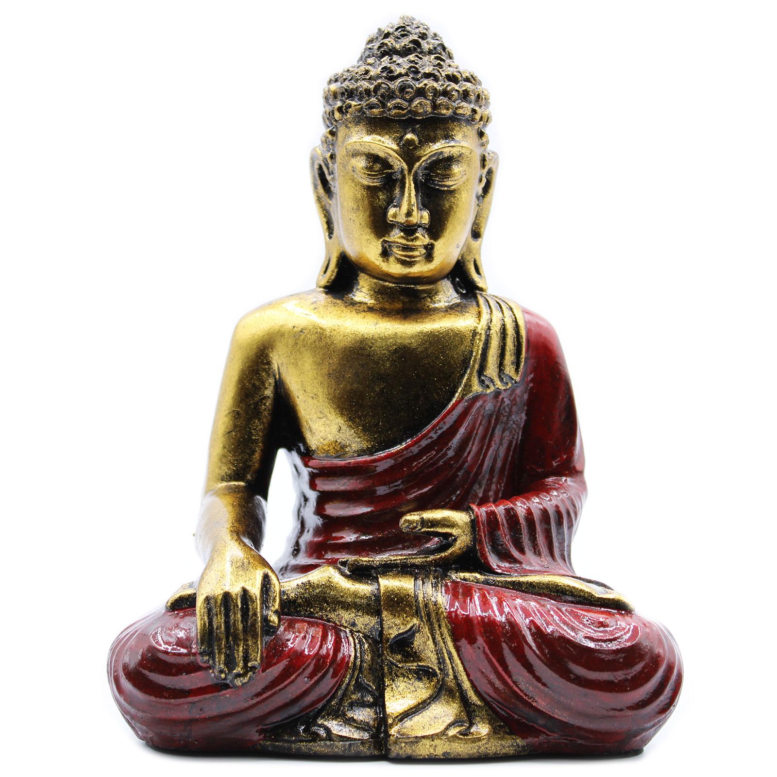 Red   Gold Buddha Large