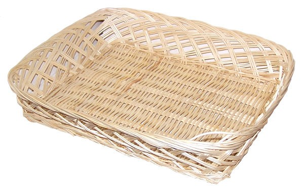 Rectangular Basket 35x30x7cm