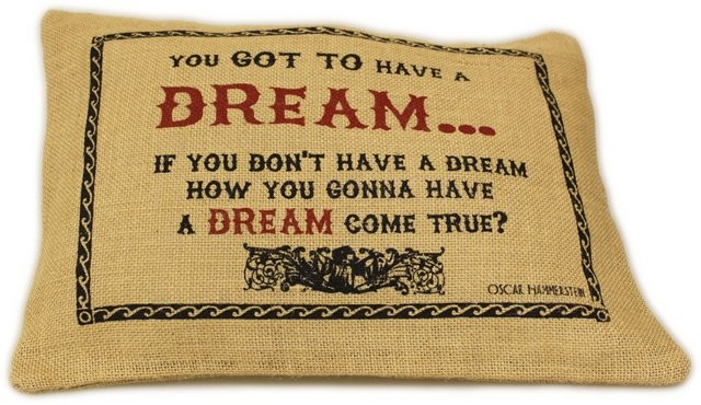 Washed Jute Cover 38x25cm Dream
