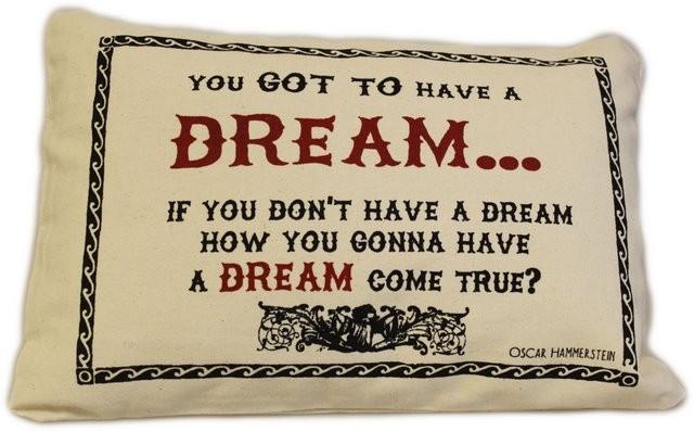 Canvas Cotton Covers 38x25cm Dream