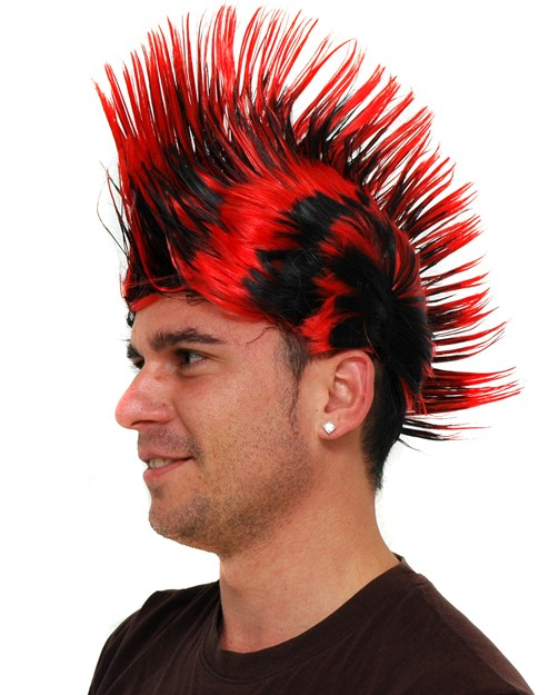 Black  Red Punky