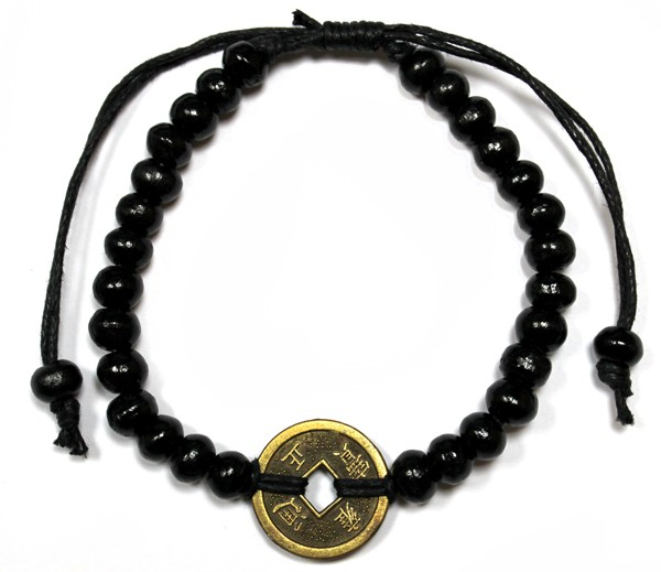 Good Luck FengShui Bracelets Black