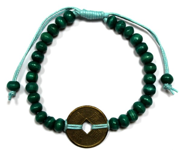 Good Luck FengShui Bracelets Green