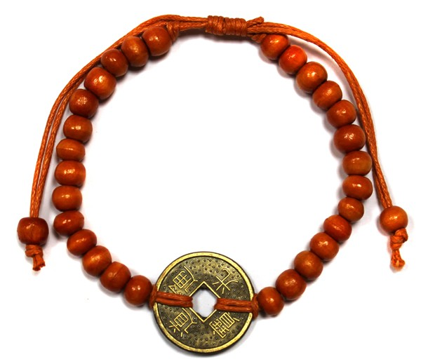 Good Luck FengShui Bracelets Orange