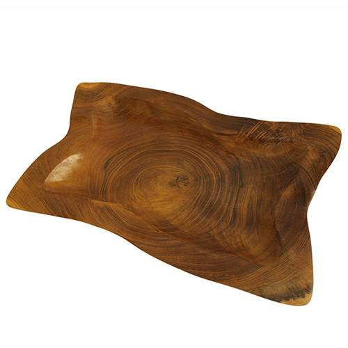 Teak Square Plates  aprox 20cm