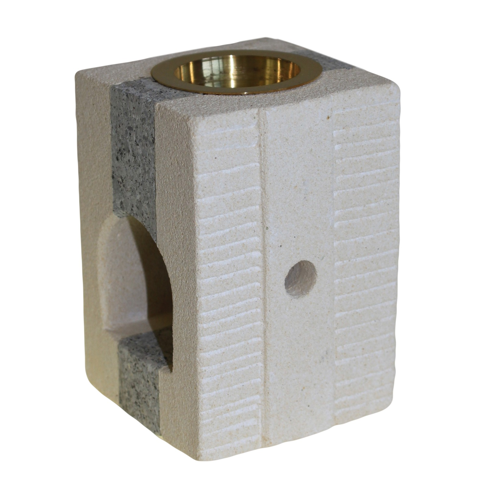 Stone Oil Burner Combo Square