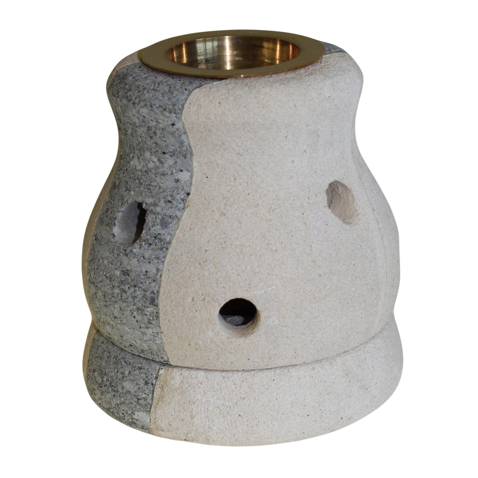 Stone Oil Burner Combo Shaped
