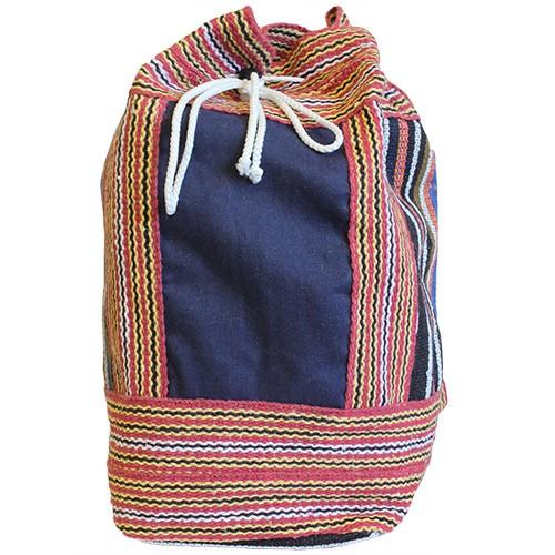 Nepal Duffle Bag Blue Panel