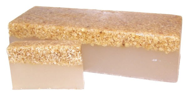 Honey   Oatmeal Soap Loaf