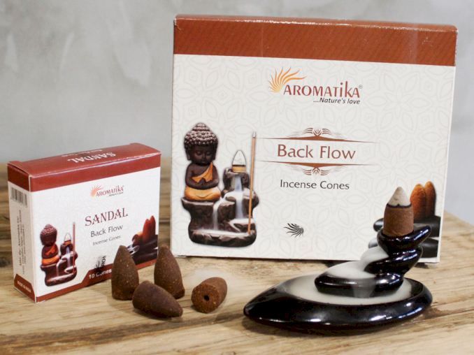 Aromatika Backflow Incense Cones - Ancient Wisdom Dropshipping