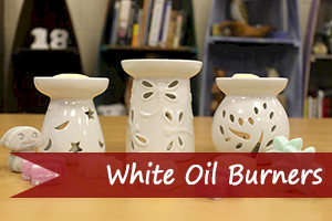 Classic White Oil Burners - Ancient Wisdom Dropshipping