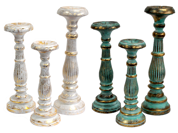 Vintage Candle Stands - Ancient Wisdom Dropshipping