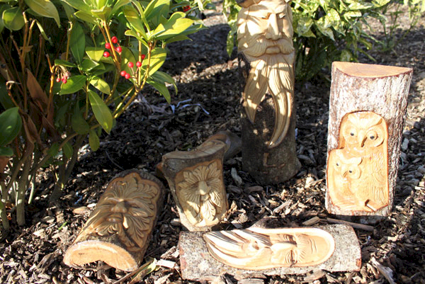 Tree Truink Carvings - Ancient Wisdom Dropshipping