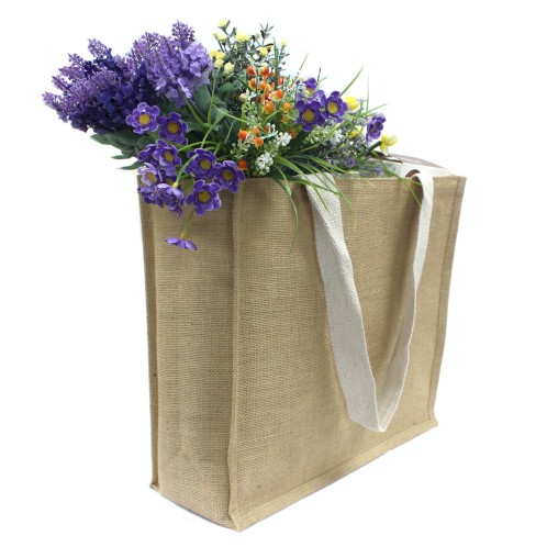 Jute Supermarket Shopping Bags - Ancient Wisdom Dropshipping