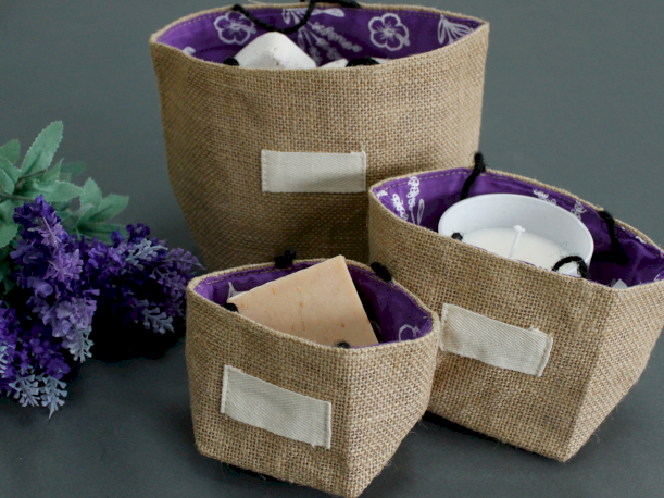 Natural Jute Cotton Gift Bags - Ancient Wisdom Dropshipping