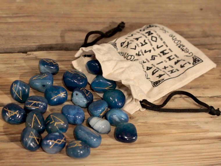 Indian Rune Sets in Pouches - Ancient Wisdom Dropshipping