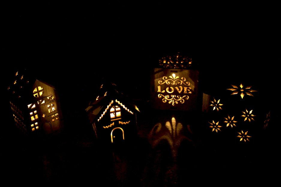 Wooden LED Light Decorations - Ancient Wisdom Dropshipping