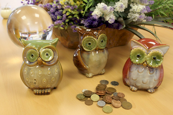 Ceramic Owl Money Boxes - Ancient Wisdom Dropshipping