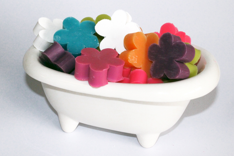 Flower Shaped Guest Soaps (10PC) - Ancient Wisdom Dropshipping