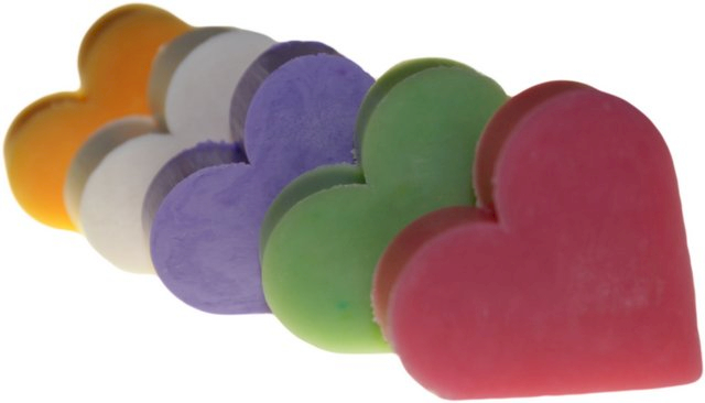 Heart Shaped Guest Soaps (10PCS) - Ancient Wisdom Dropshipping