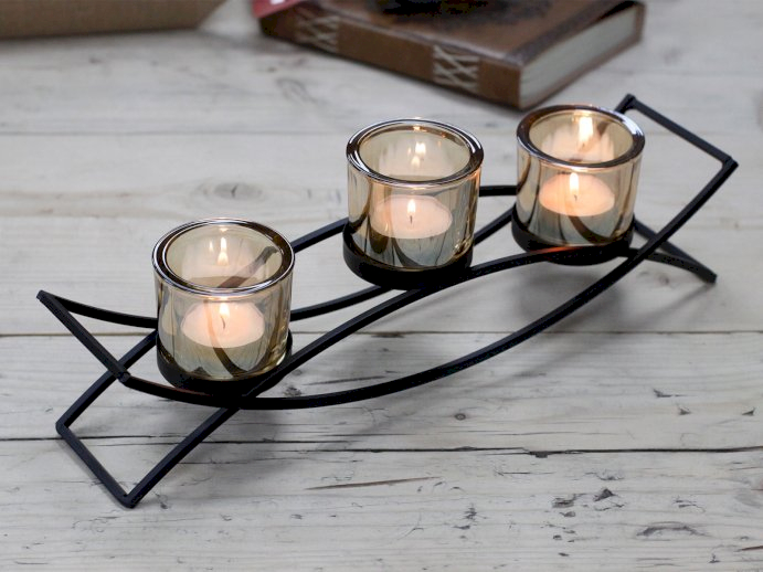 Centerpiece Iron Votive Candle Holders - Ancient Wisdom Dropshipping