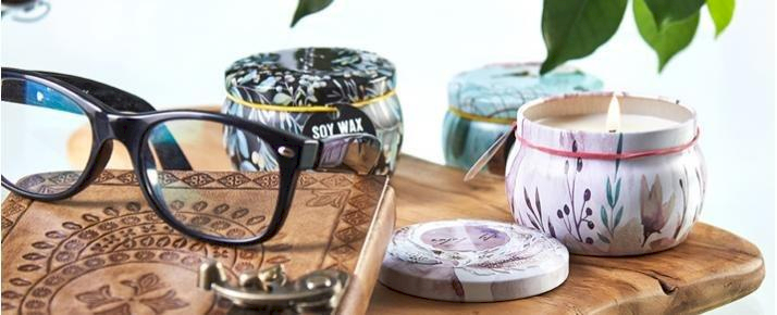 Soy Wax Art Tin Candles - AWDropshipping