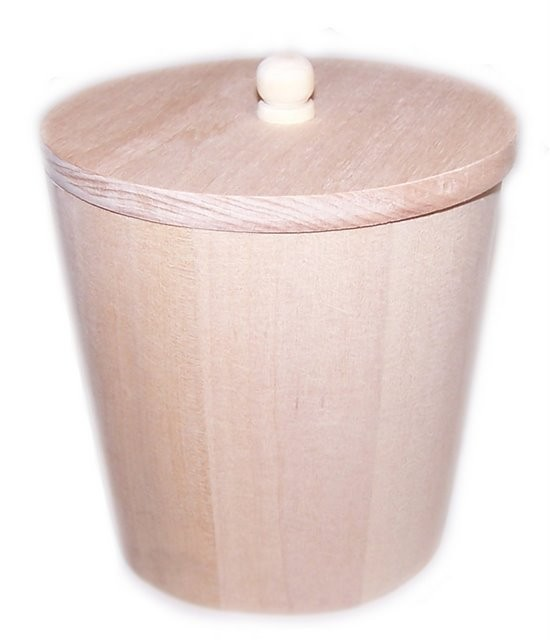 Small Wooden Display Tubs 95mm