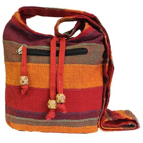 Nepal Sling Bag Sunset Reds