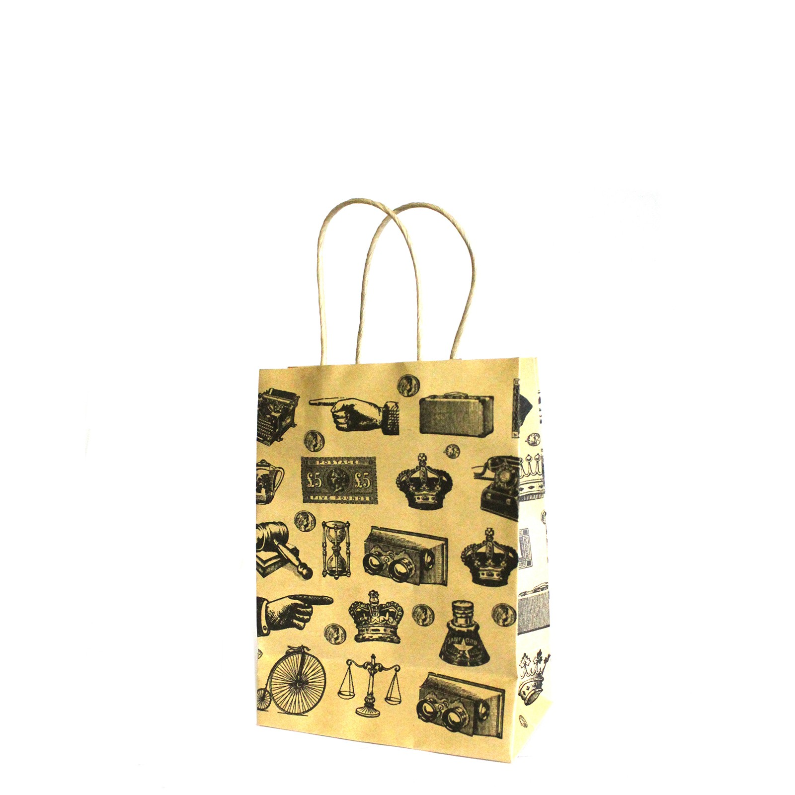 Sm Antique Gift Bags 11 5x15x6 2cm