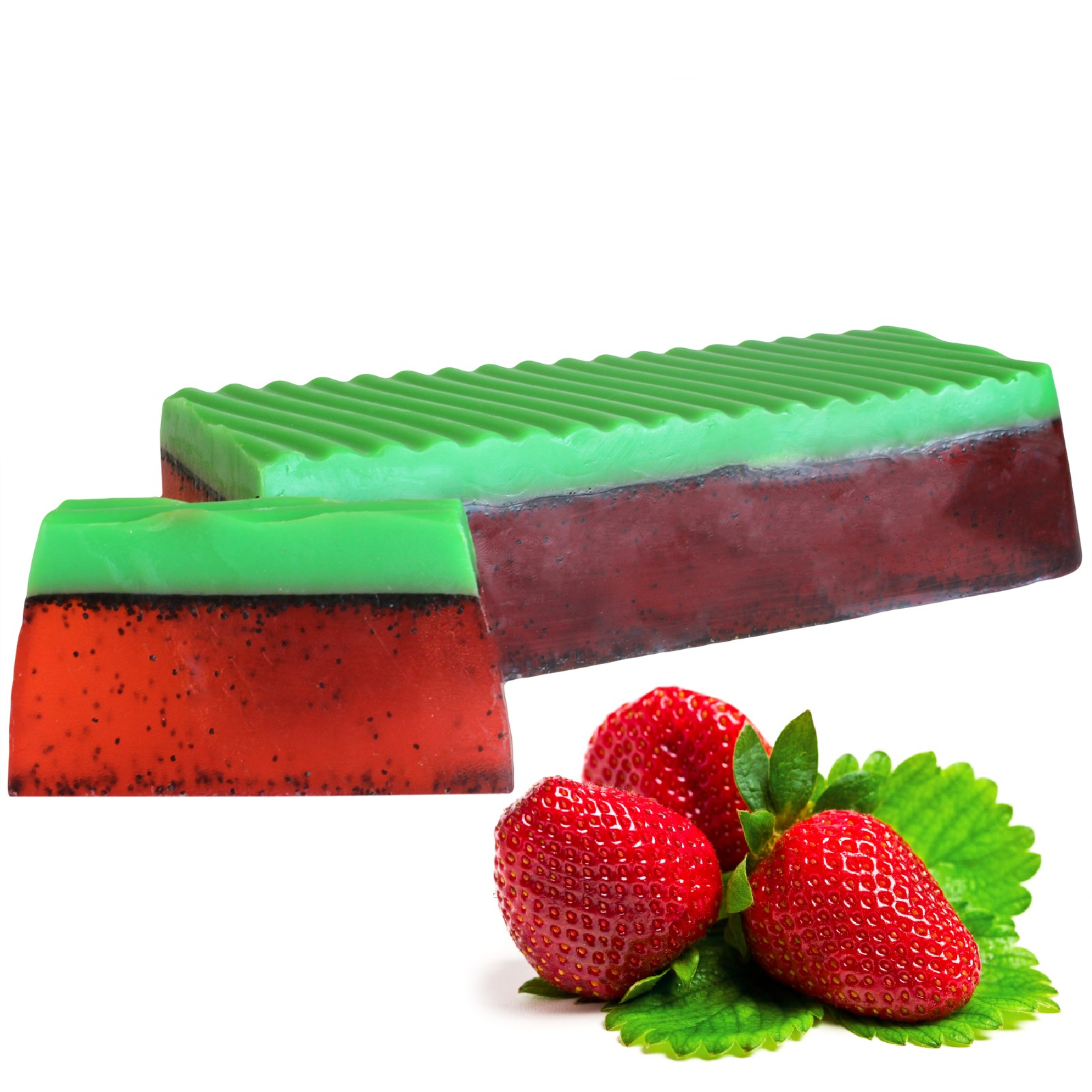 Tropical Paradise Soap Loaf Strawberry