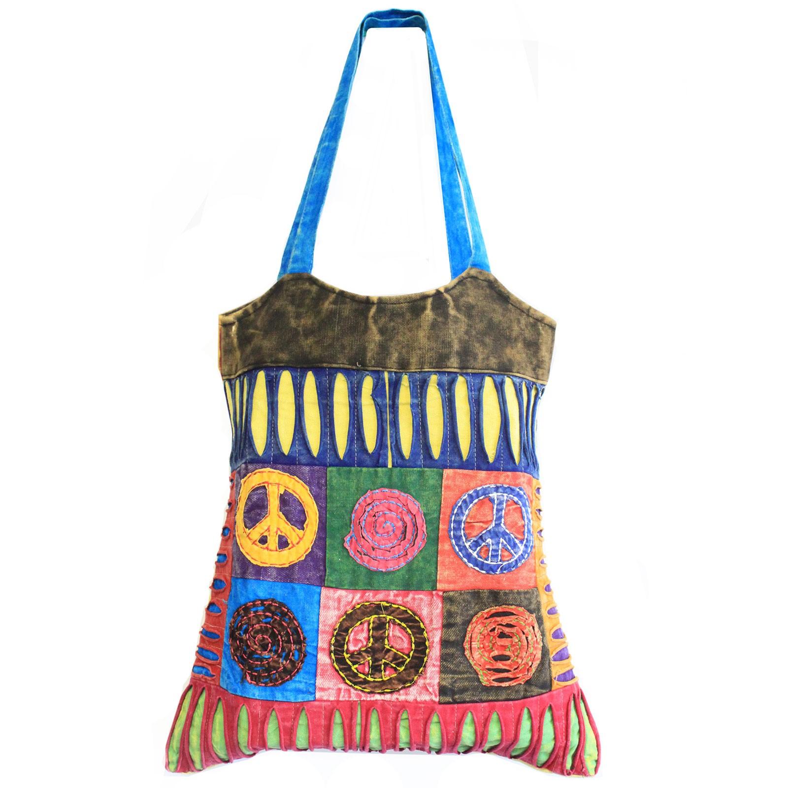 Classic Peace Skirt Bags asst des