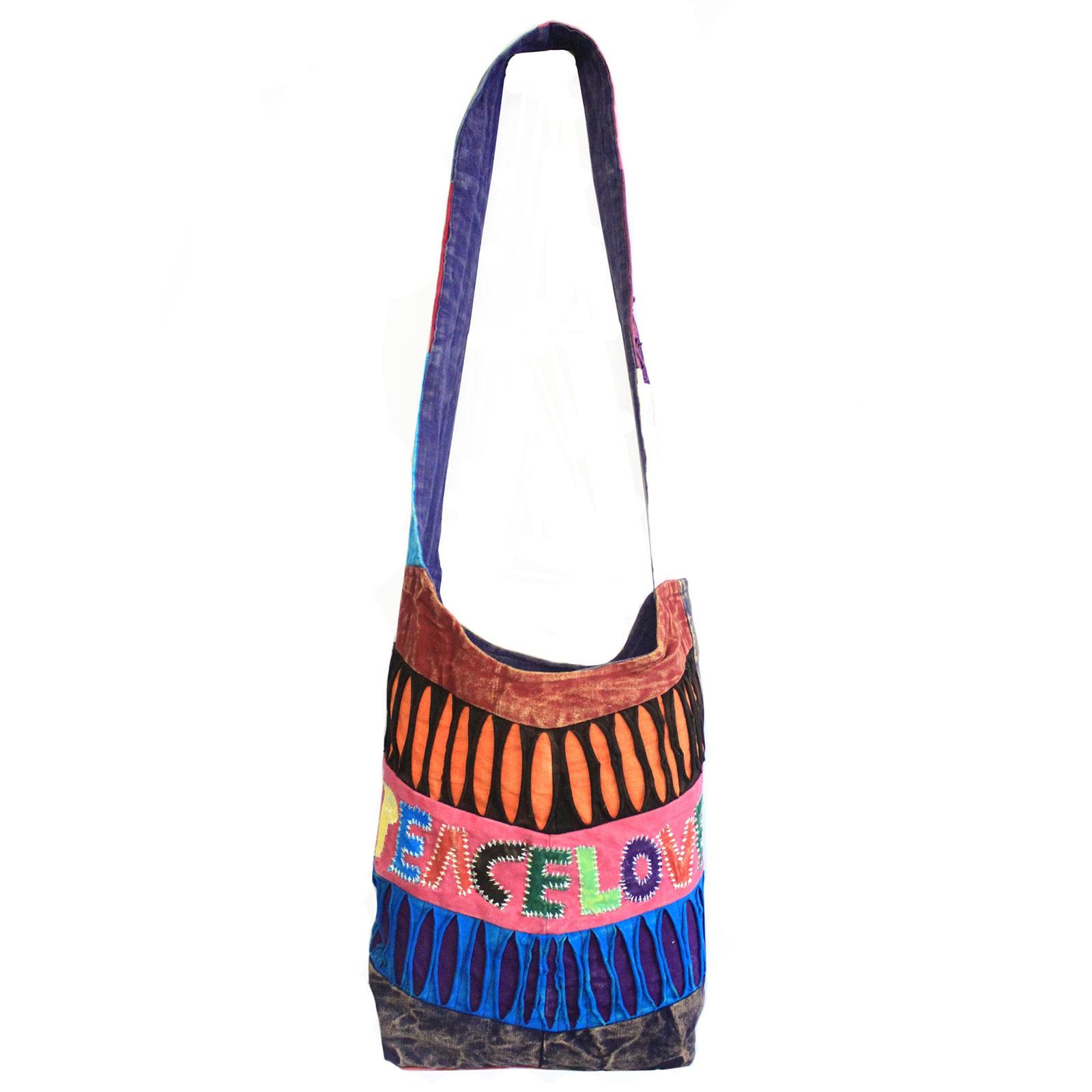 Peace and Love Bags asst des