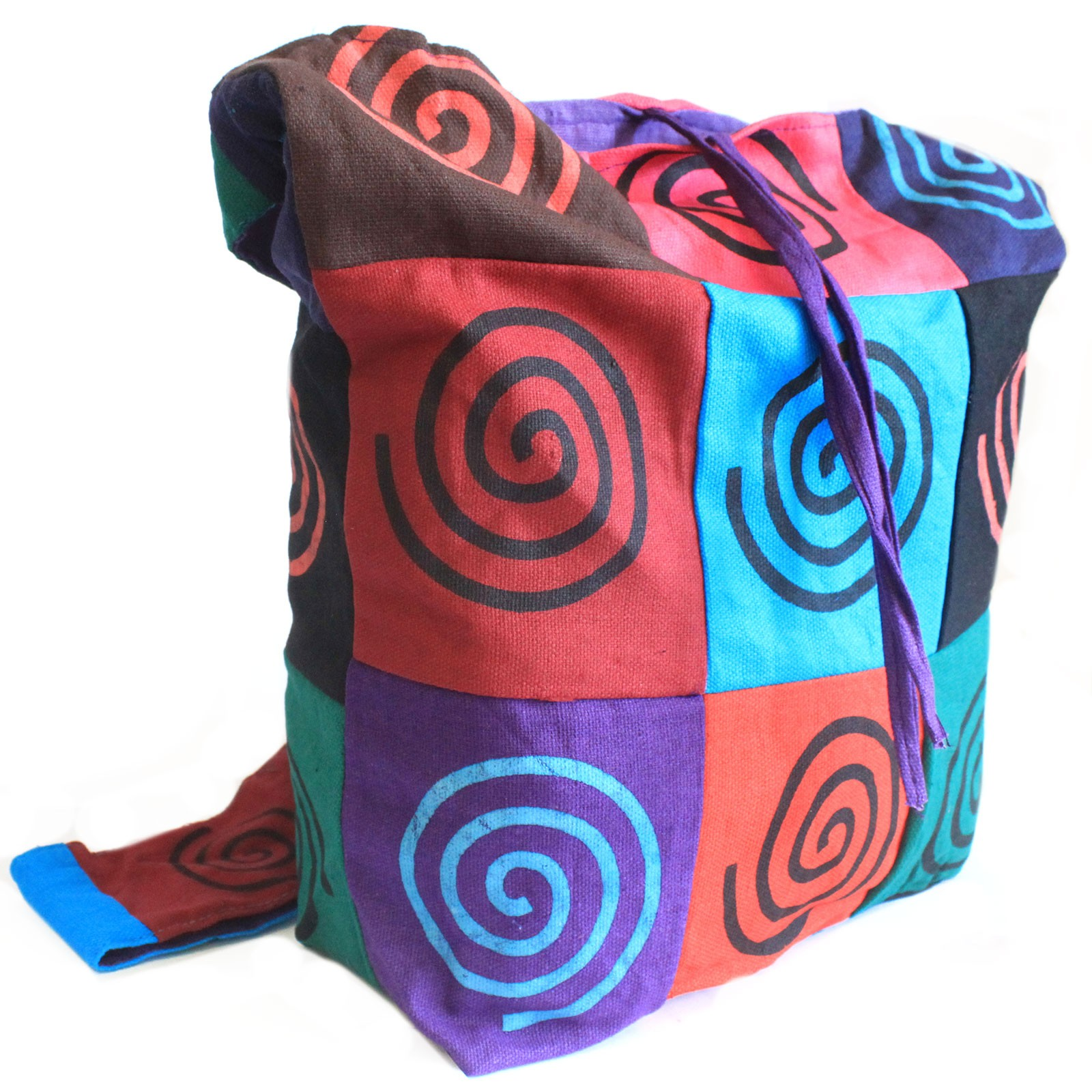 Cotton Patch Sling Bags Spiral