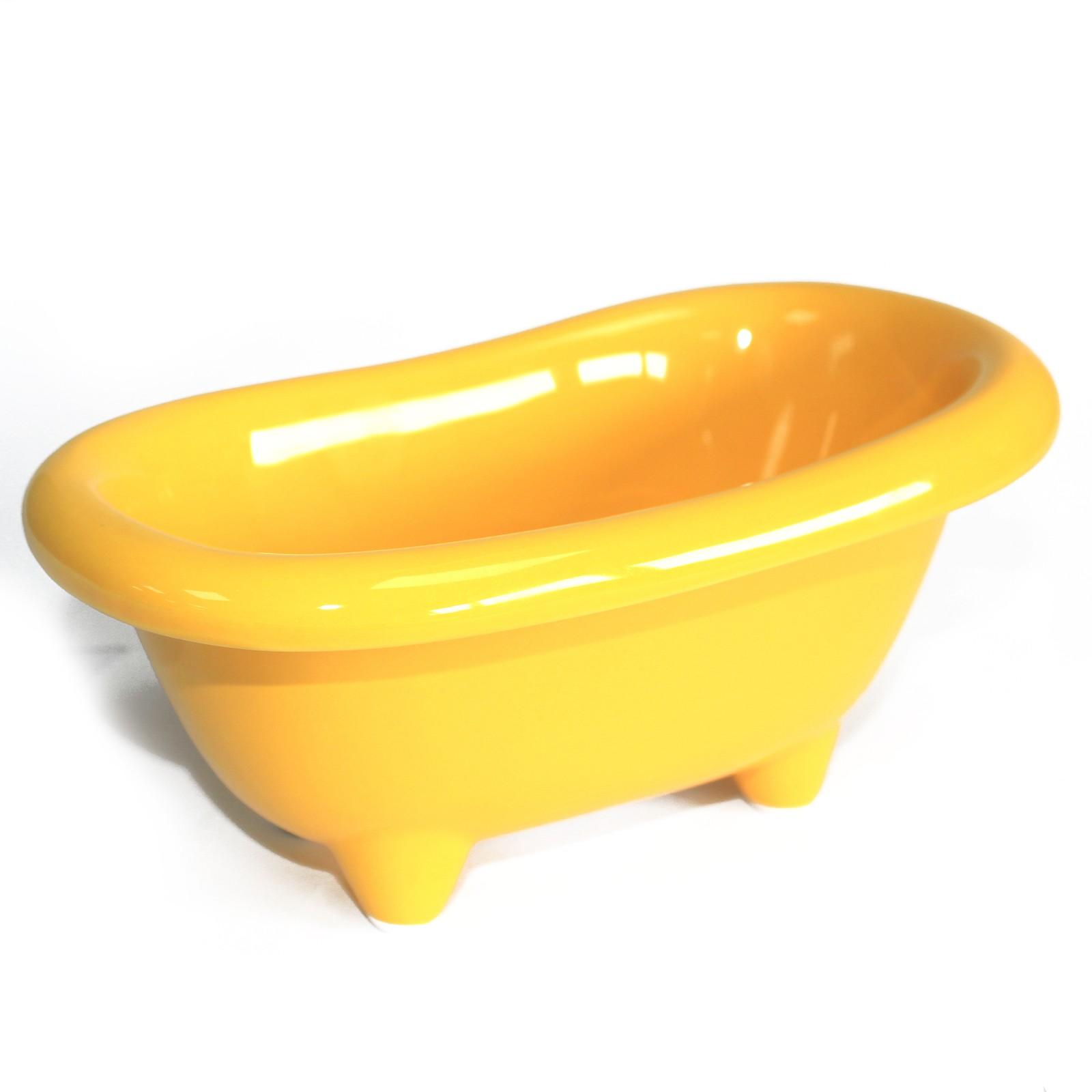 Ceramic Mini Bath Lemon