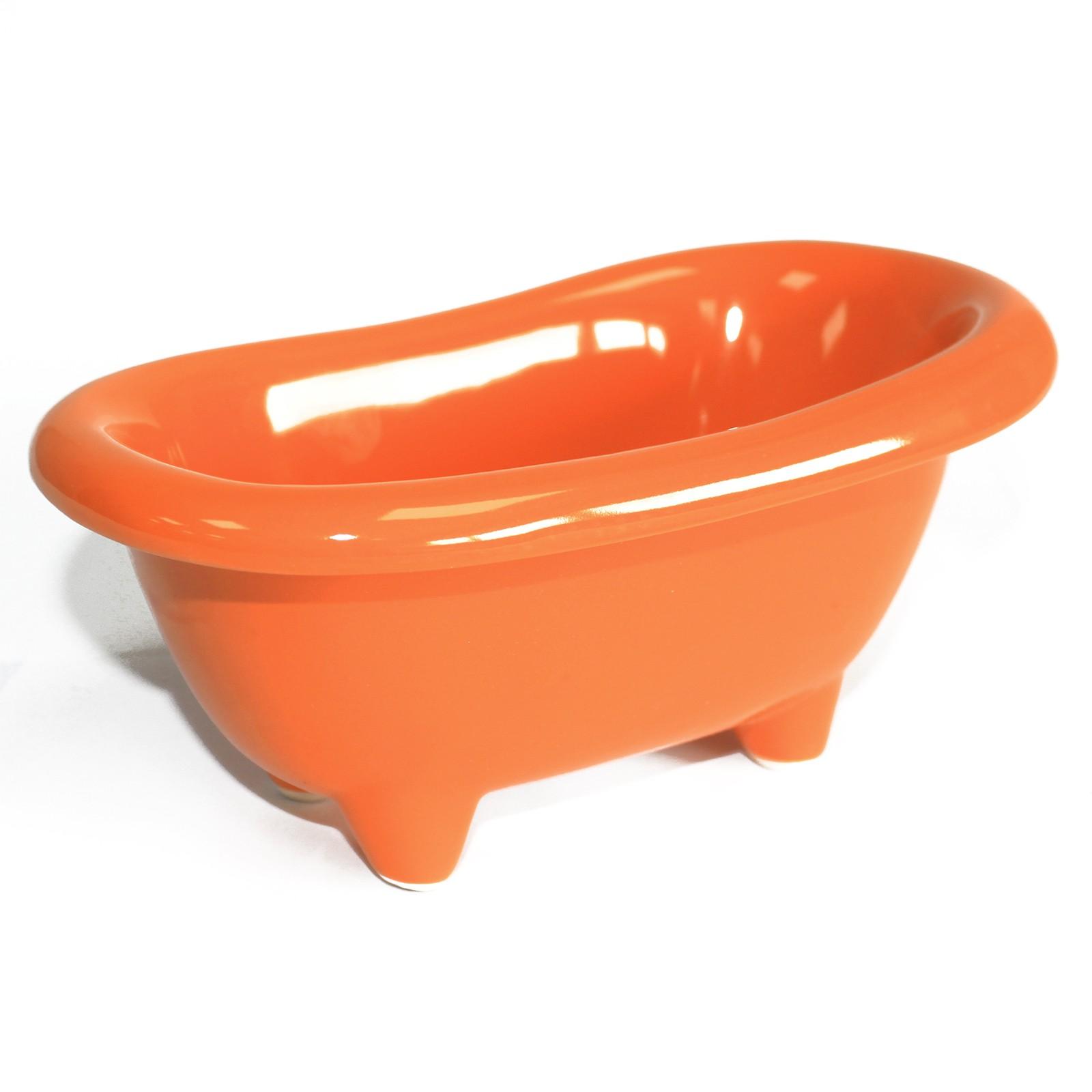 Ceramic Mini Bath Orange