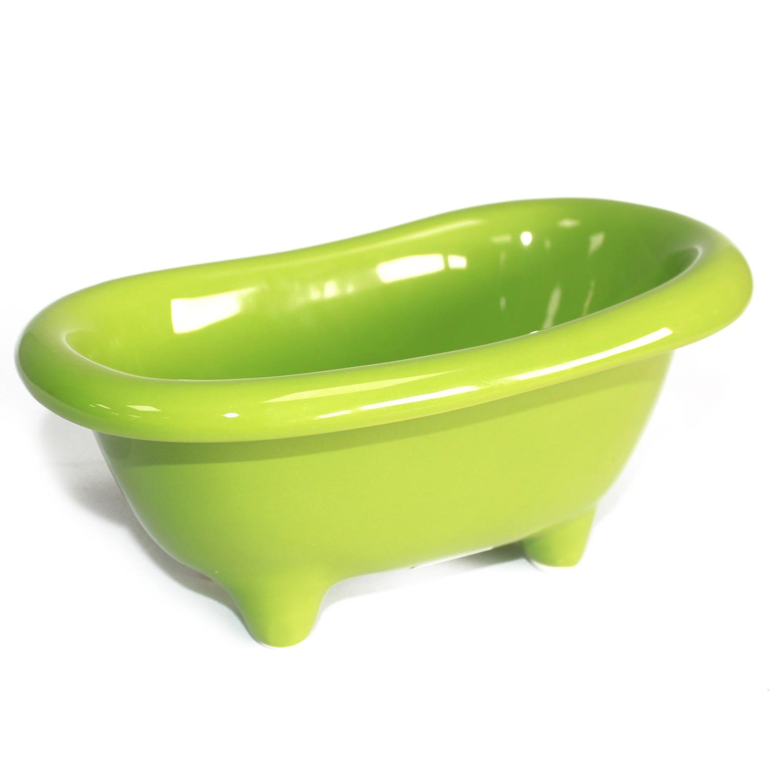 Ceramic Mini Bath Green