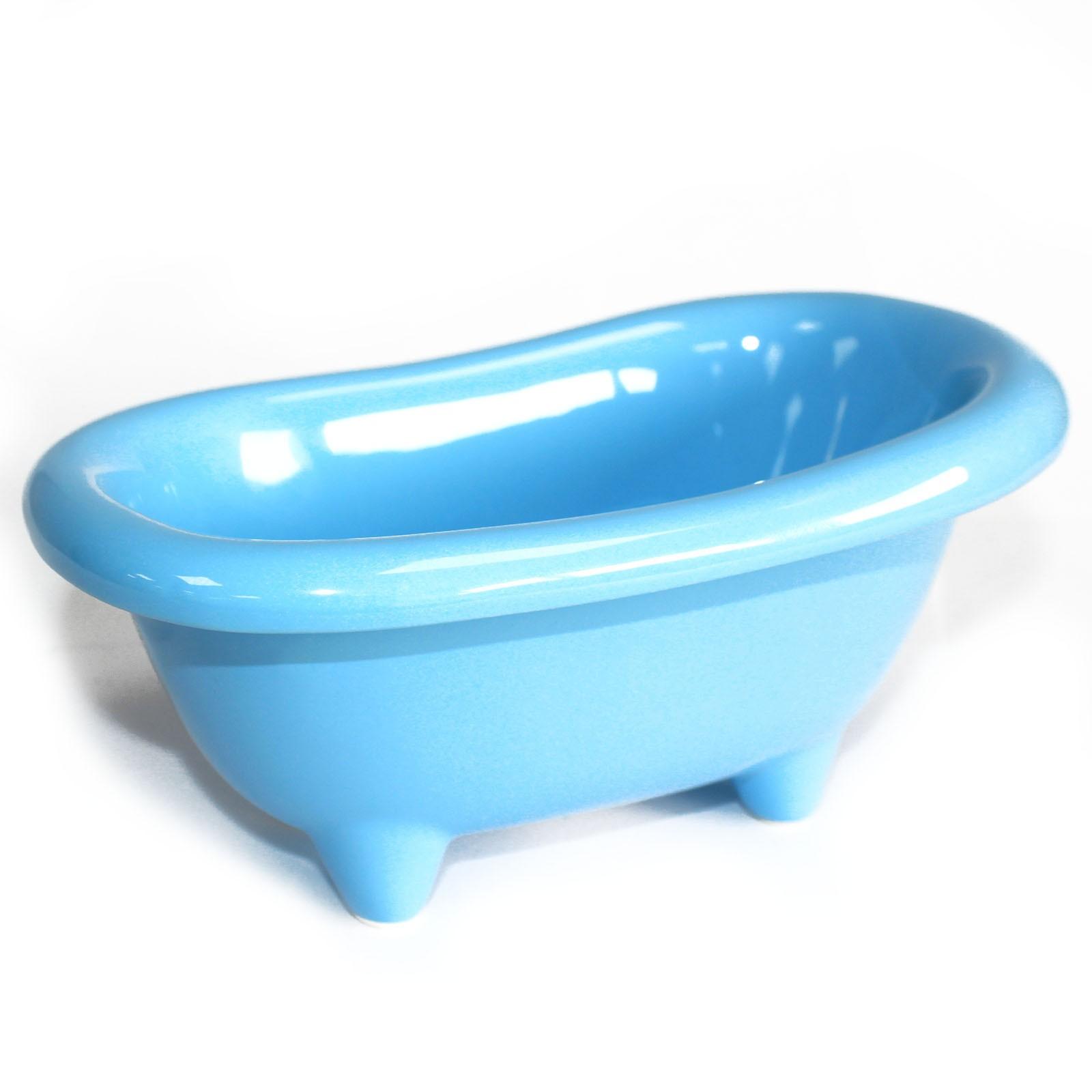 Ceramic Mini Bath Baby Blue