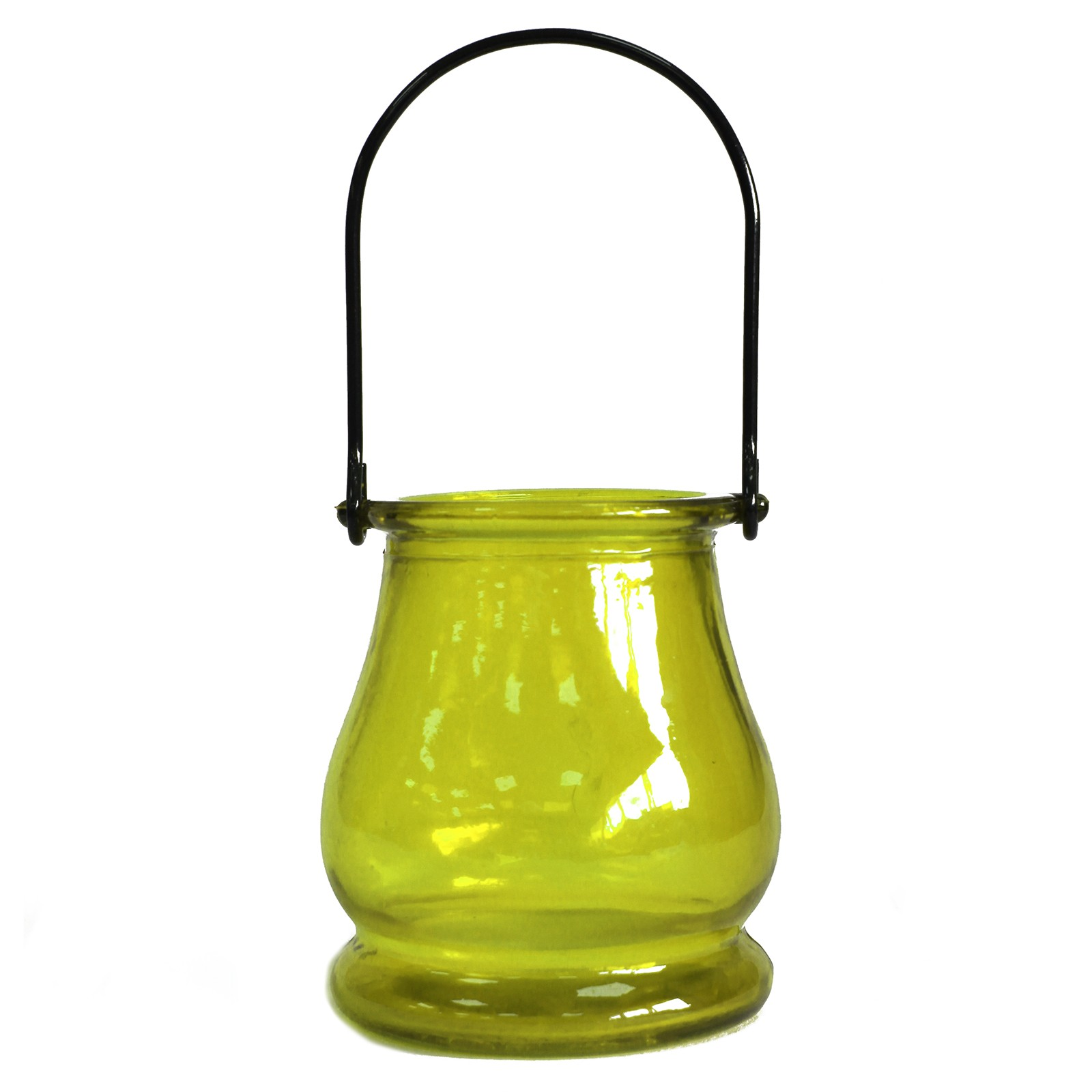 Recycled Candle Lantern Moss