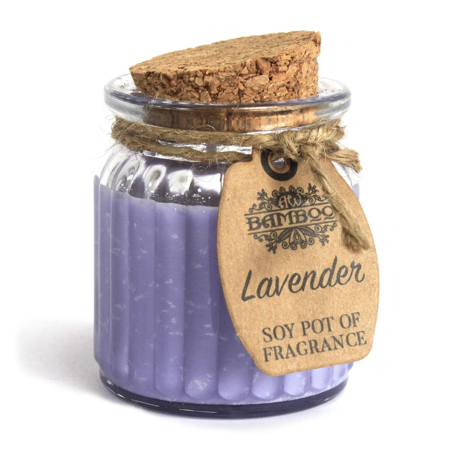 Lavender Soy Pot of Fragrance Candles