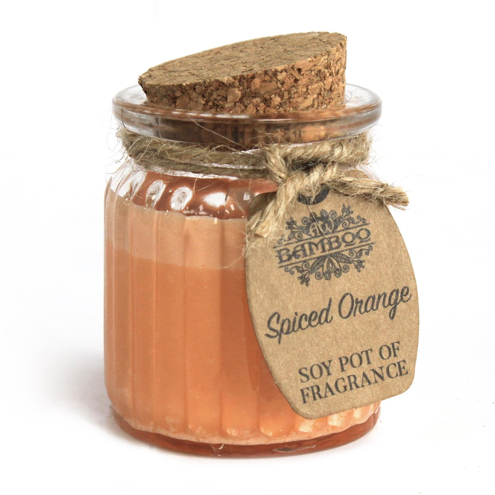 Spiced Orange Soy Pot of Fragrance Candles