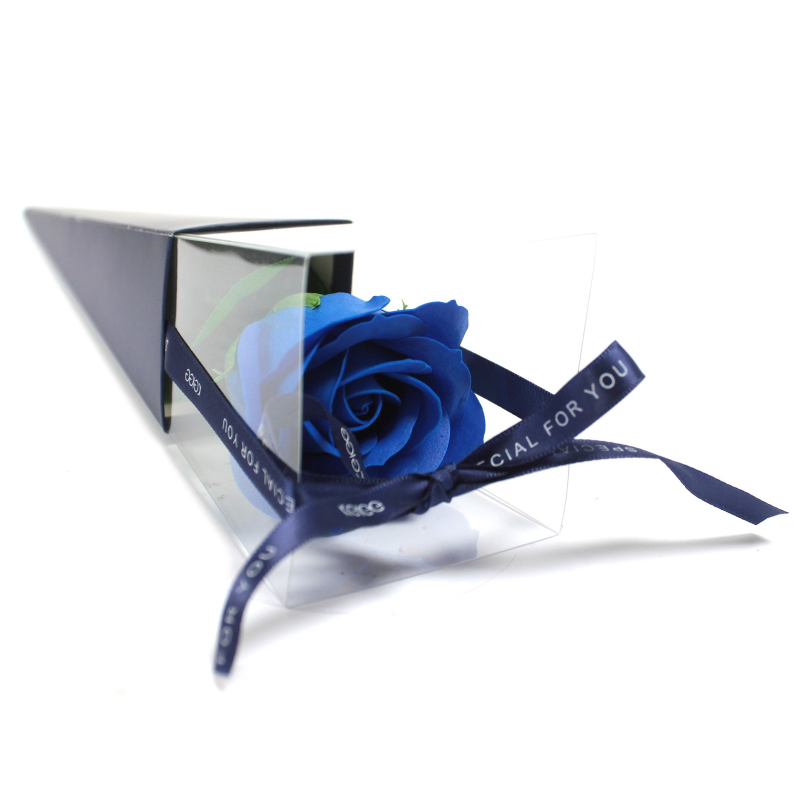 Single Rose Blue Rose