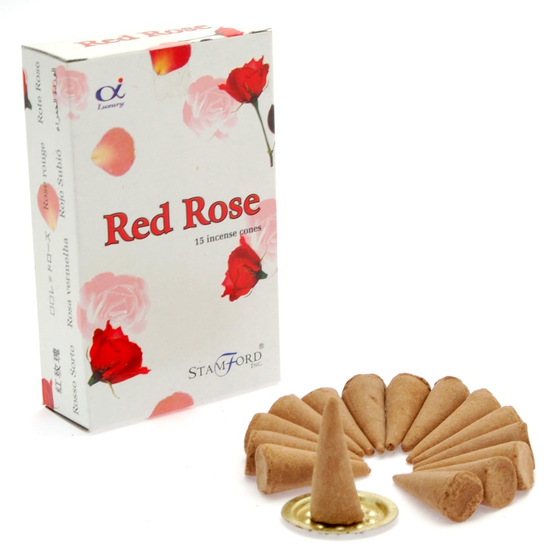 Red Rose Cones