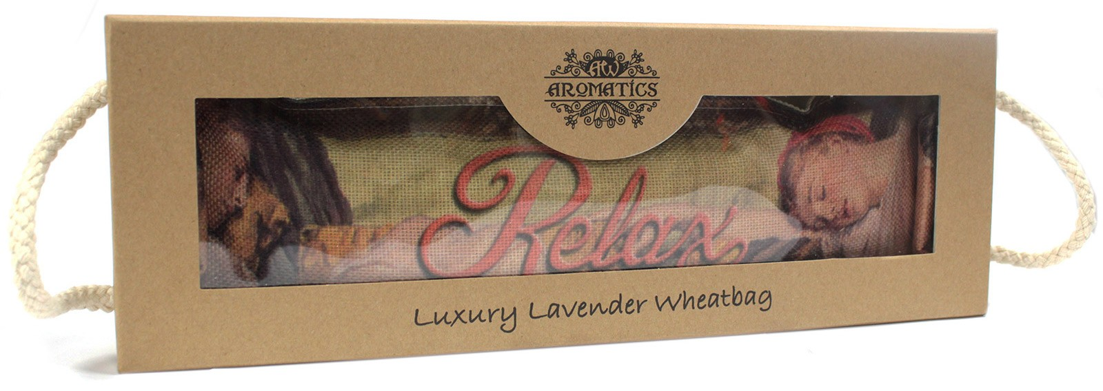 Luxury Lavender Wheat Bag in Gift Box Sleeping RELAX