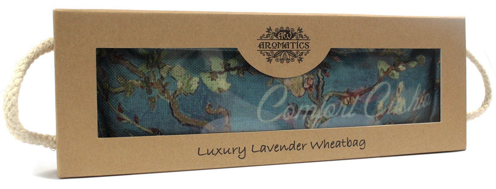 Luxury Lavender Wheat Bag in Gift Box Blossom