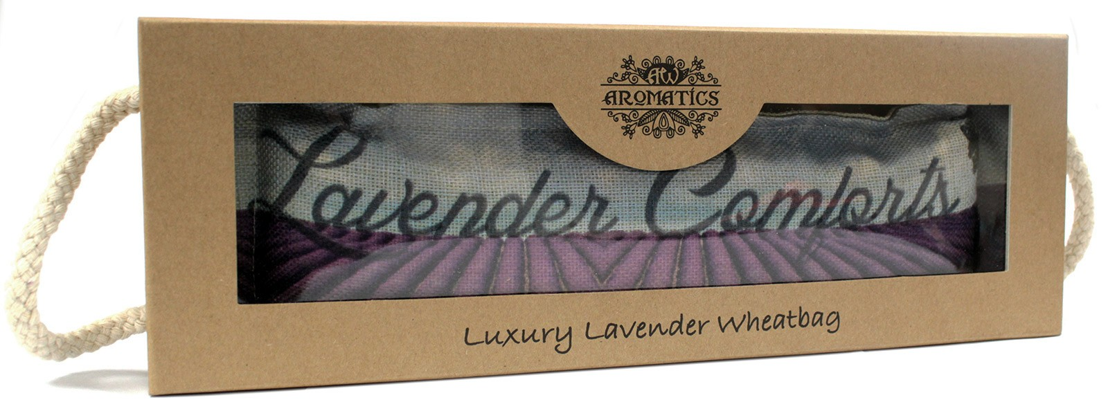Luxury Lavender Wheat Bag in Gift Box Lavender Comforts
