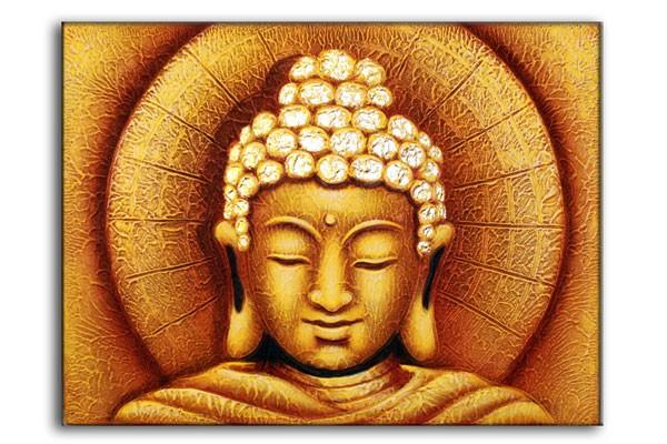 Sun Buddha Golden60x80cm