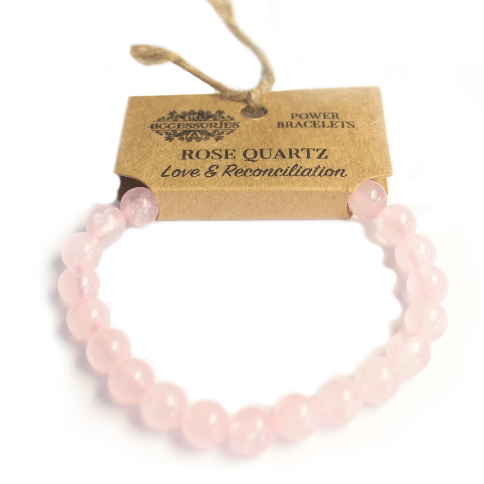 Power Bracelet Rose Quartz