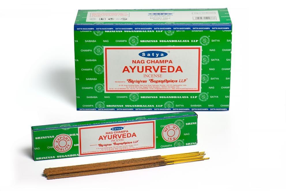 Satya Incense 15gm Ayurveda